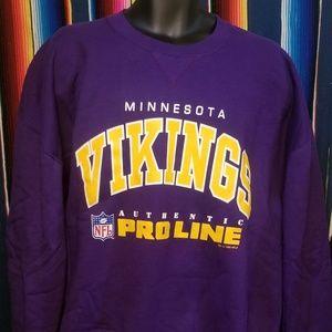 Vintage Minnesota Vikings sweatshirt